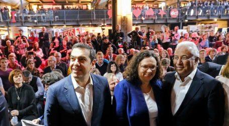 Επισημοποίηση της συνεργασίας Αριστεράς και Σοσιαλδημοκρατίας στην Ευρώπη | Τα πρώτα δειλά βήματα και ο Τσίπρας