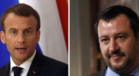 """Σαλβίνι εναντίον Μακρόν για τα """"κίτρινα γιλέκα"""""""