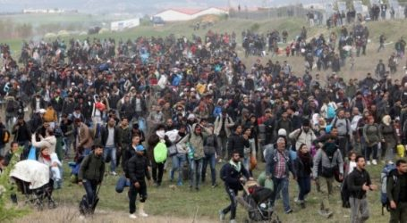 Για δεύτερη μέρα παραμένουν στον άτυπο καταυλισμό των Διαβατών πρόσφυγες και μετανάστες