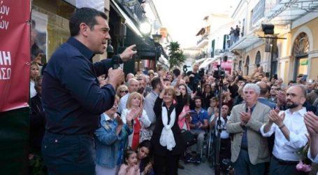 Τσίπρας: Ο ελληνικός λαός δικαιούται άλλη μια τετραετία με ανθρώπους που δεν προέρχονται από τις ελίτ