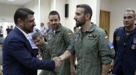 Βραβεύτηκαν Ιταλοί και Ισπανοί πιλότοι που βοήθησαν στην Εύβοια