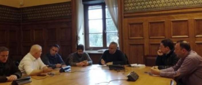 Συνάντηση ΣΥΡΙΖΑ με απεργούς εργαζομέους της ΟΜΕ-ΟΤΕ