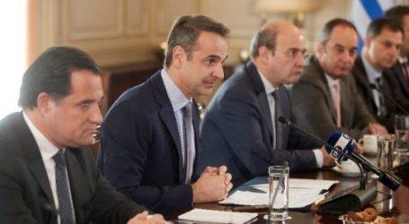 Μητσοτάκης: Η κυβέρνηση προωθεί εθνικό σχέδιο μεταρρυθμίσεων