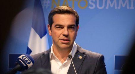 Τσίπρας: Ενισχυμένη η Ελλάδα – Καταδικαστέα η τουρκική προκλητικότητα στο Αιγαίο και παράνομη η κράτηση των 2 Ελλήνων αξιωματικών