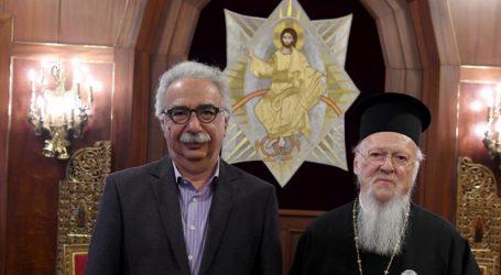 """""""Πάγος"""" από Γαβρόγλου σε Βαρθολομαίο για το κτηματικό μητροπόλεων των νέων χωρών – Είναι συμφωνία με την Εκκλησία της Ελλάδας"""