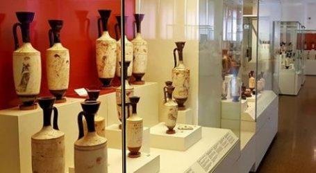 Λευκές λήκυθοι στο Εθνικό Αρχαιολογικό Μουσείο