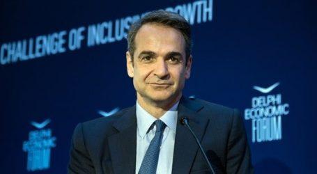 Μητσοτάκης: «Η Ελλάδα θα γίνει success story» (αν οι Έλληνες μου εμπιστευτούν τη διακυβέρνηση)