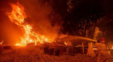 (VID + PICS) Καλιφόρνια: Η μεγαλύτερη πυρκαγιά στην ιστορία της πολιτείας – Στάχτη 1.148.500 στρέμματα