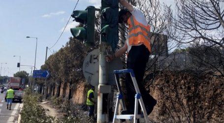 Αποκατάσταση των φθορών στους κόμβους φωτεινής σηματοδότησης στη λεωφόρο Μαραθώνος