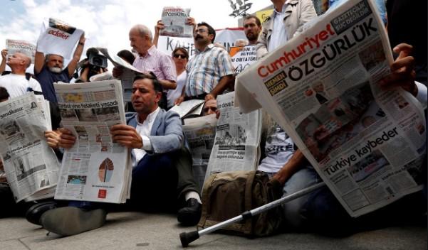 Δραματική η κατάσταση του Τύπου στην Τουρκία