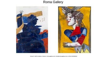 Στη ROMA GALLERY έκθεση έργων των Δημήτρη Μυταρά και Αλέκου Φασιανού
