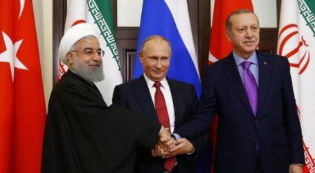 """Πούτιν-Ερντογάν-Ροχανί υπέρ μιας """"σταθερής εκεχειρίας"""" στη Συρία"""