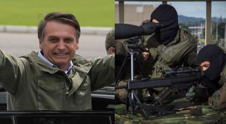 Βραζιλία: Χάνεται ο δημοκρατικός έλεγχος με την εκλογή Μπολσονάρου – Ο κυβερνήτης του Ρίο φέρνει ελεύθερους σκοπευτές κατά εγκληματιών