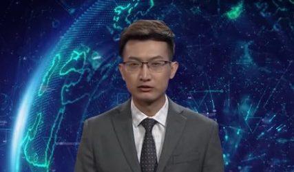 (VID) Ρομπότ που παρουσιάζει ειδήσεις έκανε την παρθενική του εμφάνιση στην Παγκόσμια Διάσκεψη του Διαδικτύου