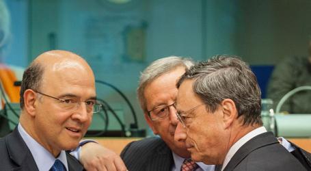 Γιούνκερ-Μοσκοβισί εναντίον Ντράγκι για την ελληνική έξοδο από τα μνημόνια