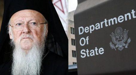 Ανάμιξη ΗΠΑ στη διαμάχη των ορθόδοξων εκκλησιών | Το Στέιτ Ντιπάρτμεντ στο πλευρό του Οικουμενικού Πατριαρχείου