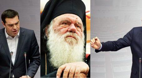 """""""Ιερός πόλεμος"""" για τον αρχιεπίσκοπο Ιερώνυμο"""