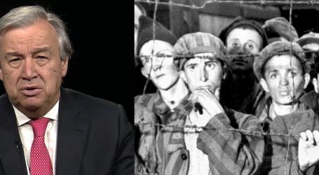 Γκουτέρες για Ολοκαύτωμα: Να σταθούμε σήμερα απέναντι στην αποδοχή του μίσους ως κάτι κανονικό