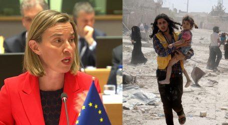 Επίθεση στη Συρία: 4 μέρες χρειάστηκε η ΕΕ για να μιλήσει – Ζητάει εξεύρεση πολιτικής λύσης