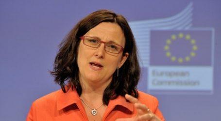 Σε εφαρμογή από τα μεσάνυχτα τα αντίμετρα της ΕΕ κατά των ΗΠΑ για τους δασμούς
