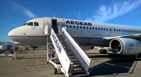 Aegean: Αύξηση 7% στο σύνολο της επιβατικής κίνησης για το εννεάμηνο του 2019
