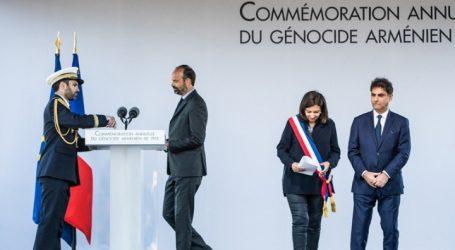 Η Γαλλία τίμησε για πρώτη φορά επίσημα την επέτειο της γενοκτονίας των Αρμενίων