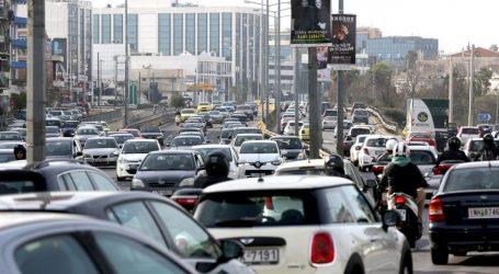 Κυκλοφοριακό χάος στην Αθήνα λόγω κινητοποιήσεων και απεργιών στα μέσα μεταφοράς