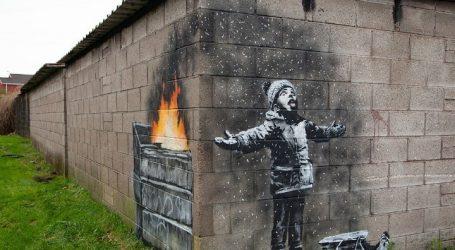 Καινούργιος «Banksy» στην πιο μολυσμένη πόλη της Βρετανίας