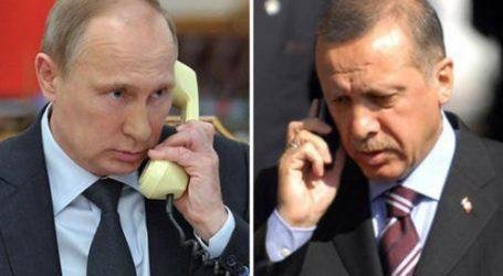 (UPD) Πούτιν-Ερντογάν: Σοβαρή ανησυχία για την αιματοχυσία των Παλαιστινίων στη Μέση Ανατολή