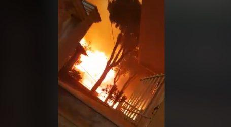 Το συγκλονιστικό βίντεο από τις καταστροφικές πυρκαγιές