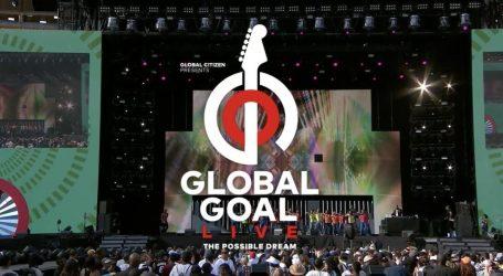Μεγάλη συναυλία στις πέντε ηπείρους για την καταπολέμηση της φτώχειας