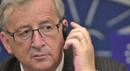 Γιούνκερ για πυρκαγιές: Η ΕΕ στο πλευρό της Ελλάδας