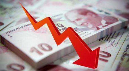 Συνεχίζεται η πτώση της τουρκικής λίρας
