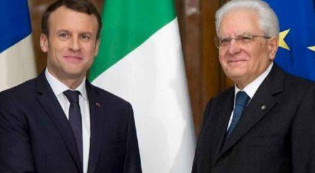 Ο Εμανουέλ Μακρόν καλεί στην Γαλλία τον Ιταλό πρόεδρο Ματταρέλλα