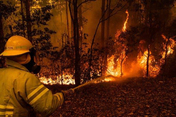 Επιμένουν οι πυρκαγιές στην Αυστραλία