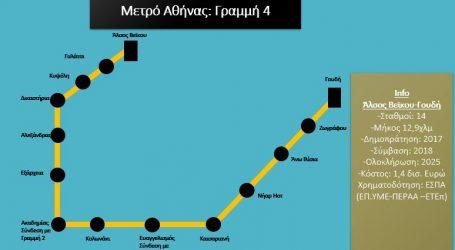 Παραδόθηκαν τα τεύχη δημοπράτησης της Γραμμής 4 του Μετρό