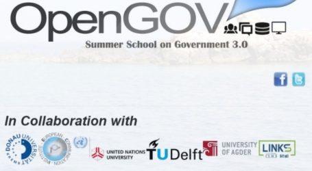 Summer School με θέμα Governance του Μέλλοντος, Δημοκρατία και Τεχνολογία