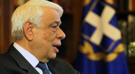 Την οδύνη του για τα θύματα της καταστροφικής κακοκαιρίας στη Χαλκιδική, εξέφρασε ο Πρ. Παυλόπουλος
