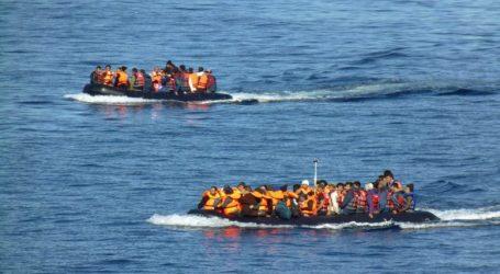 Πάνω από 500 μετανάστες πέρασαν στη Λέσβο με 13 φουσκωτές λέμβους
