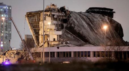 Ρωσία: Κατάρρευση οροφής σταδίου – Ένας νεκρός