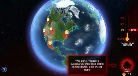 Η σωτηρία του Κλίματος σε βιντεοπαιχνίδι