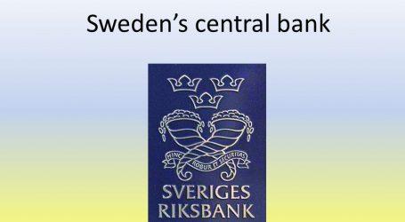 Αύξηση επιτοκίων από την Κεντρική Τράπεζα της Σουηδίας