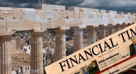 FT: Η ελληνική οικονομία δείχνει πολλά υποσχόμενα σημάδια ανάπτυξης