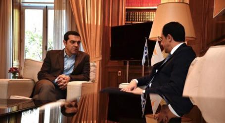 Τον νέο ΥΠΕΞ της Κύπρου Νίκο Χριστοδουλίδη συνάντησε ο Τσίπρας