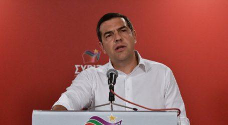 Τσίπρας: Άμεσες εκλογές – Ζητάμε την καθαρή εντολή για να μπορούν οι πολλοί να πορεύονται με το κεφάλι ψηλά (vid)