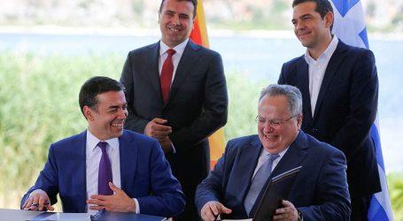 FAZ: «Διπλωματικό αριστούργημα» η συμφωνία για το σκοπιανό