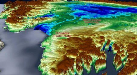 Η NASA ανακάλυψε τεράστιο κρατήρα πρόσκρουσης κάτω από τους πάγους της Γροιλανδίας