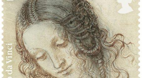 Με 12 γραμματόσημα οι Βρετανοί τιμούν τον Ντα Βίντσι