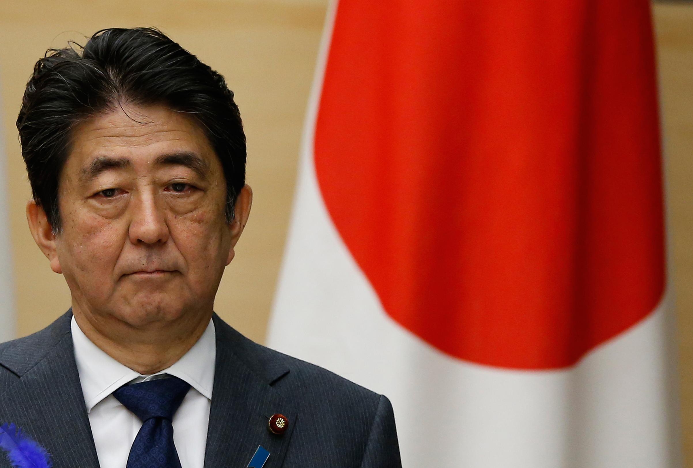 Ο Ιάπωνας πρωθυπουργός Σίνζο Άμπε